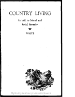 Country Living: An Aid to Moral and Social Security – PDF (1.53 MB)